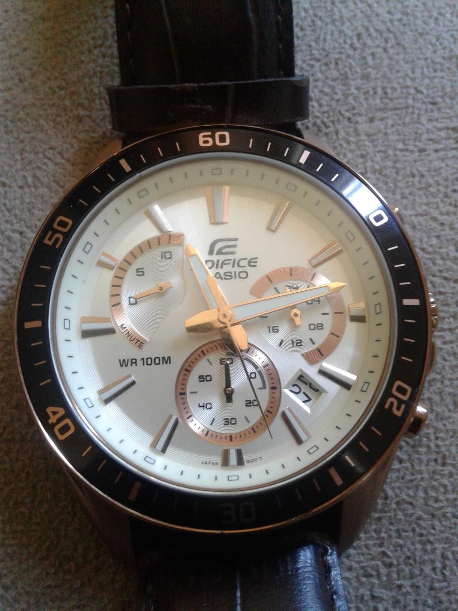 2b3d7a765eaa relógio casio edifice modelo 5490 importado original. Carregando zoom.