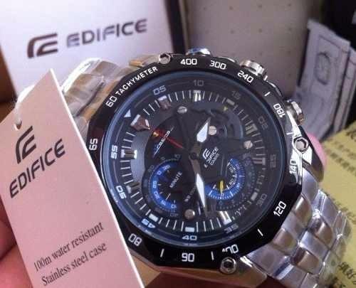 f250dd441d3 Relógio Casio Edifice Original F1-ef -550 Envio Imediato - R  449