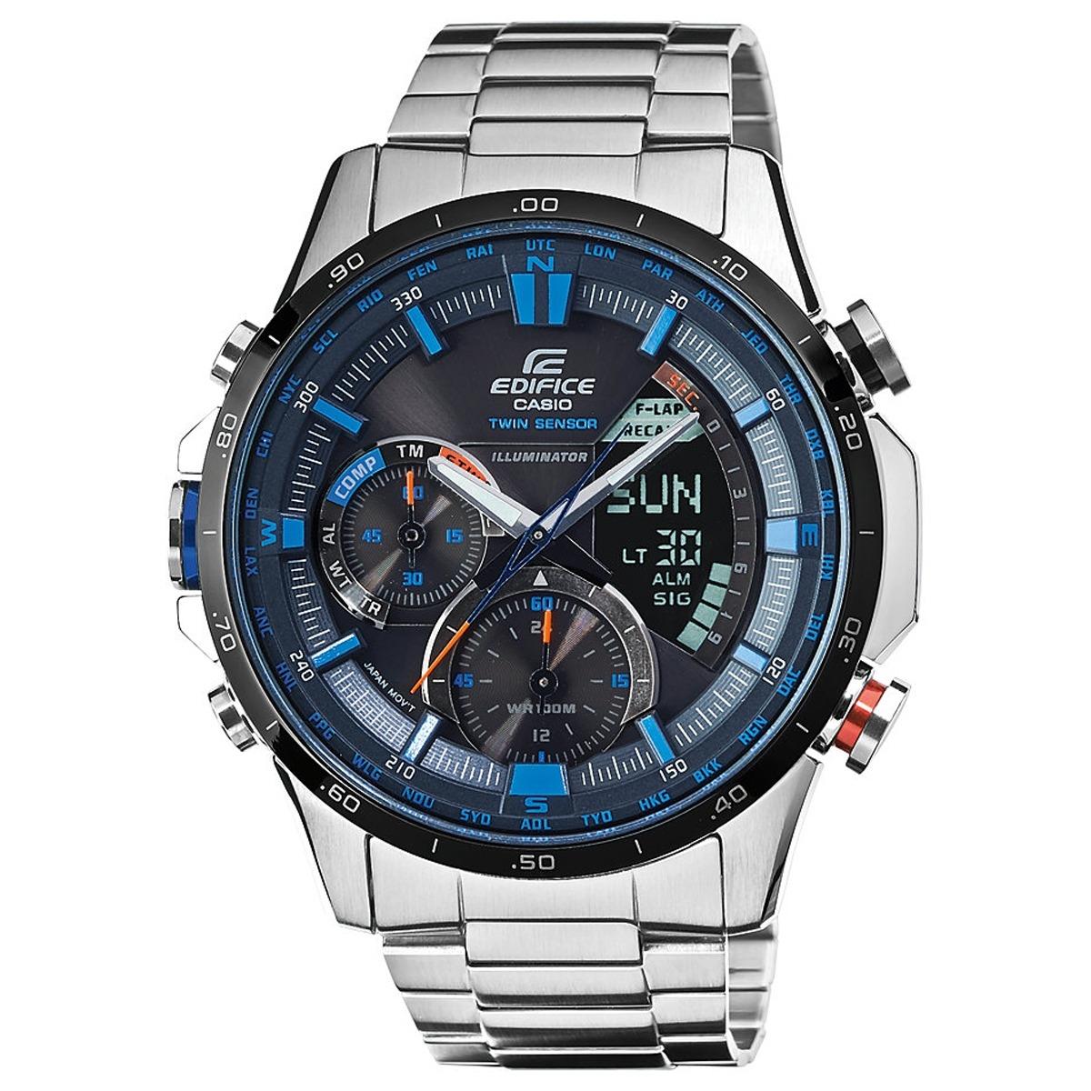 840365aeda2a relógio casio edifice twin sensor cronógrafo anadigi masculi. Carregando  zoom.