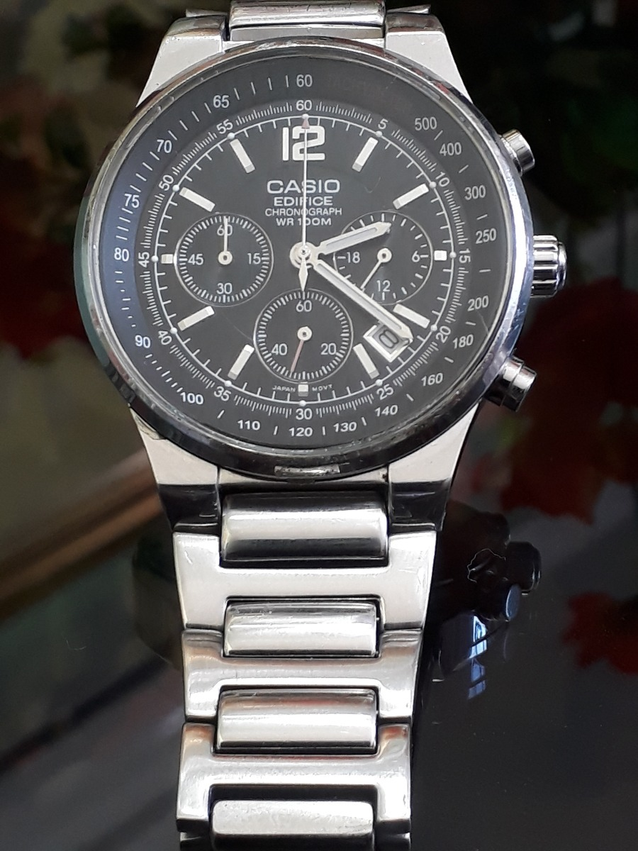 73c6c6b5a570 relógio casio ef 500 2711 edifice (òtimo!!) puls. original. Carregando zoom.