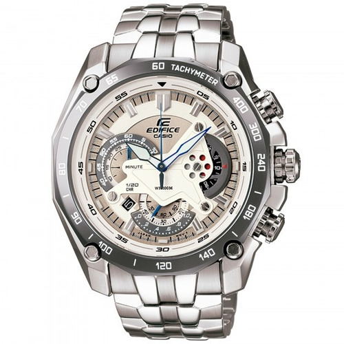 relógio casio ef-550d-7avudf edifice masculino pra- refinado