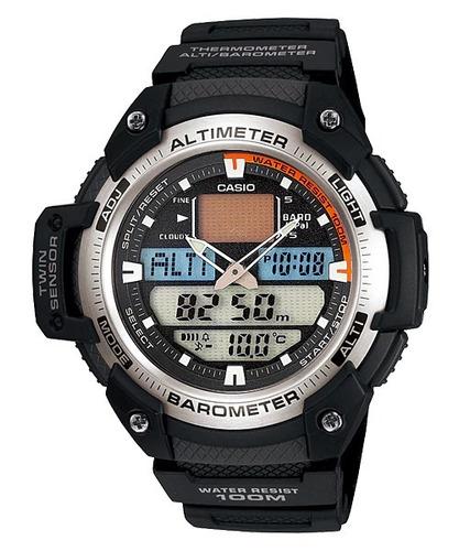 relogio casio esportivo masculino digital  - sgw-400h-1bvdr