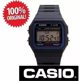 relogio casio f-91 classico 100% original melhor preço