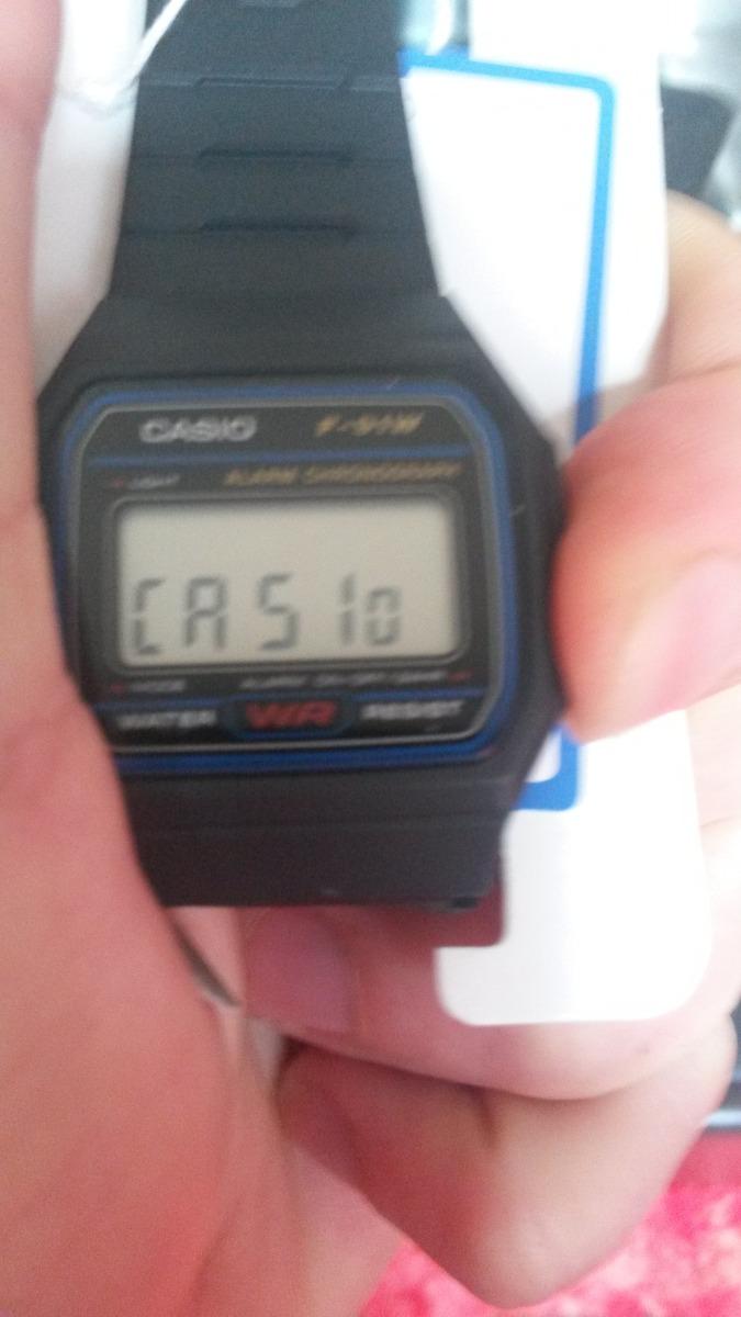 c776c2fd833 relógio casio f-91w-1dg original classico na caixa f91. Carregando zoom.