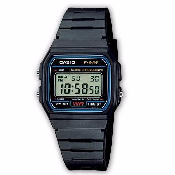 33f823297ad Relógio Casio F-91w-1dg Original Classico Na Caixa F91 - R  120