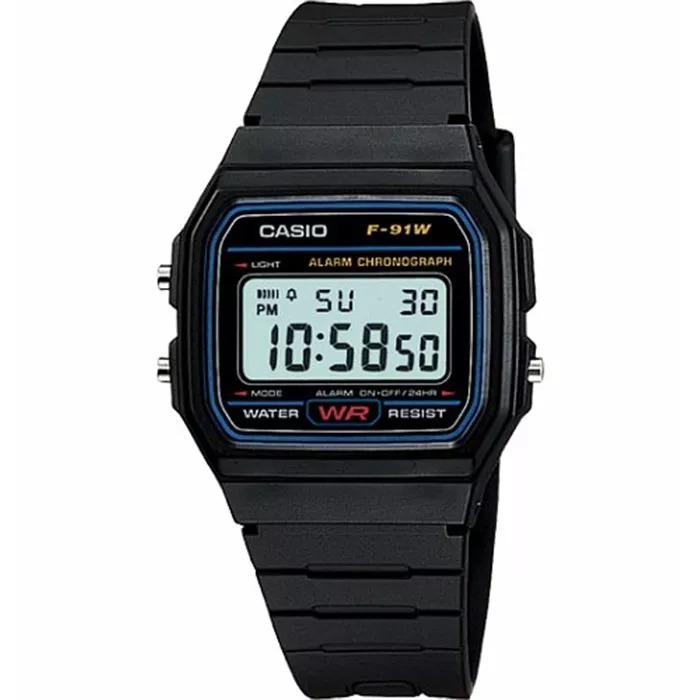 35c2c37a1d7 Relógio Casio F-91w-1dg Original Classico Na Caixa F91 - R  120