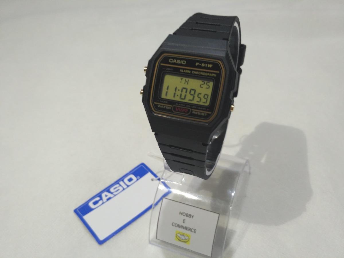 55a395f9215 relógio casio f-91w original  pronta entrega.série ouro. Carregando zoom.