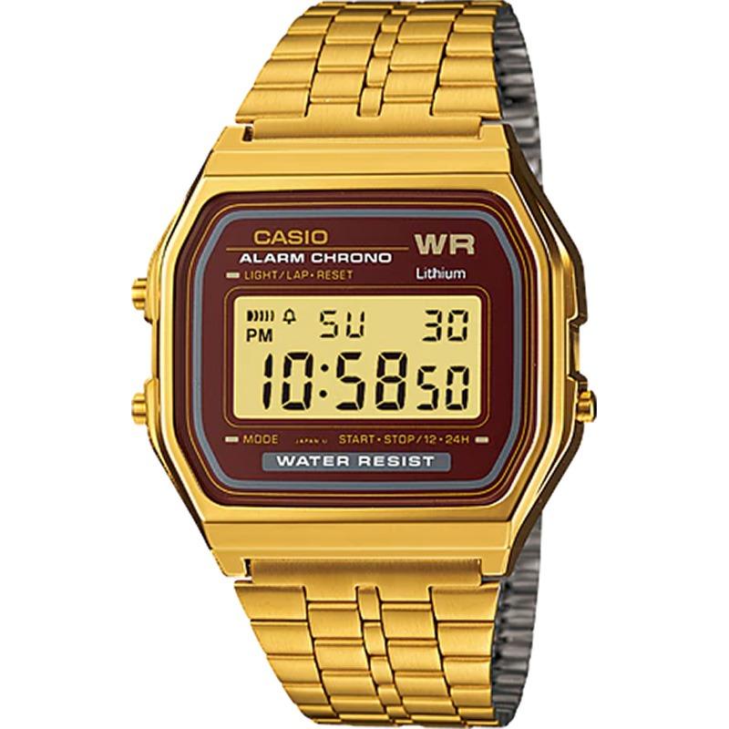 1533020d6e6 Relógio Casio Vintage Feminino Dourado A159wgea-5df - R  236