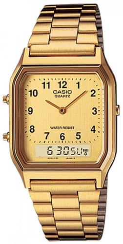 b09d7251f Relógio Casio Feminino Vintage Aq-230ga-9dmq + Frete - R  309