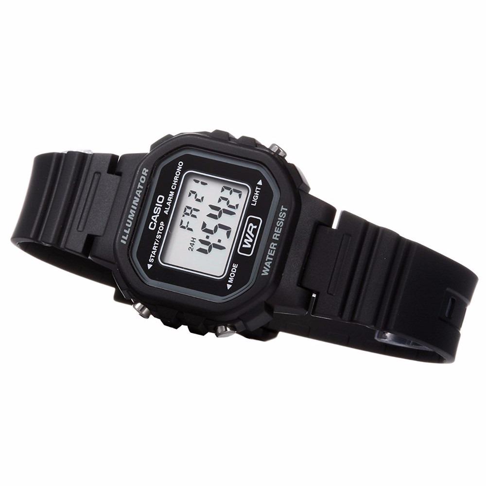 2336d211527 Relógio Casio Feminino Digital Esportivo Preto La20wh-1adf - R  129 ...