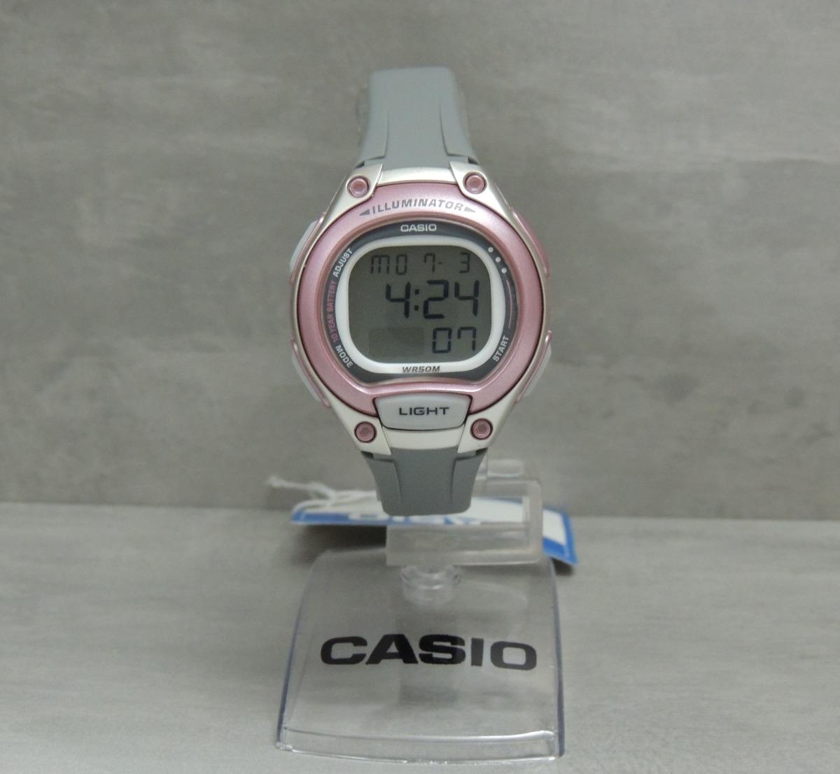 c83d2901b2d Relógio Casio Feminino Lw-203-8avdf Lançamento ( Nf) - R  188