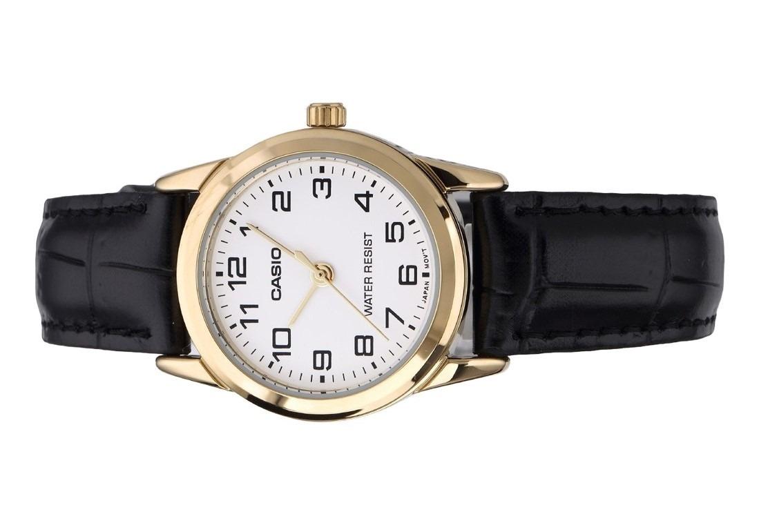 765dbe77069 relógio casio feminino analógico couro wr ltp-v001gl-7budf · relógio casio  feminino. Carregando zoom.