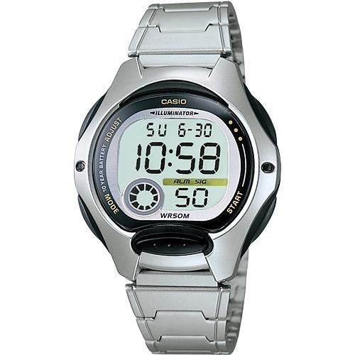6a7661e3215 Relógio Casio Feminino Lw-200 D Cronômetro Alarme 50 M Preto - R ...