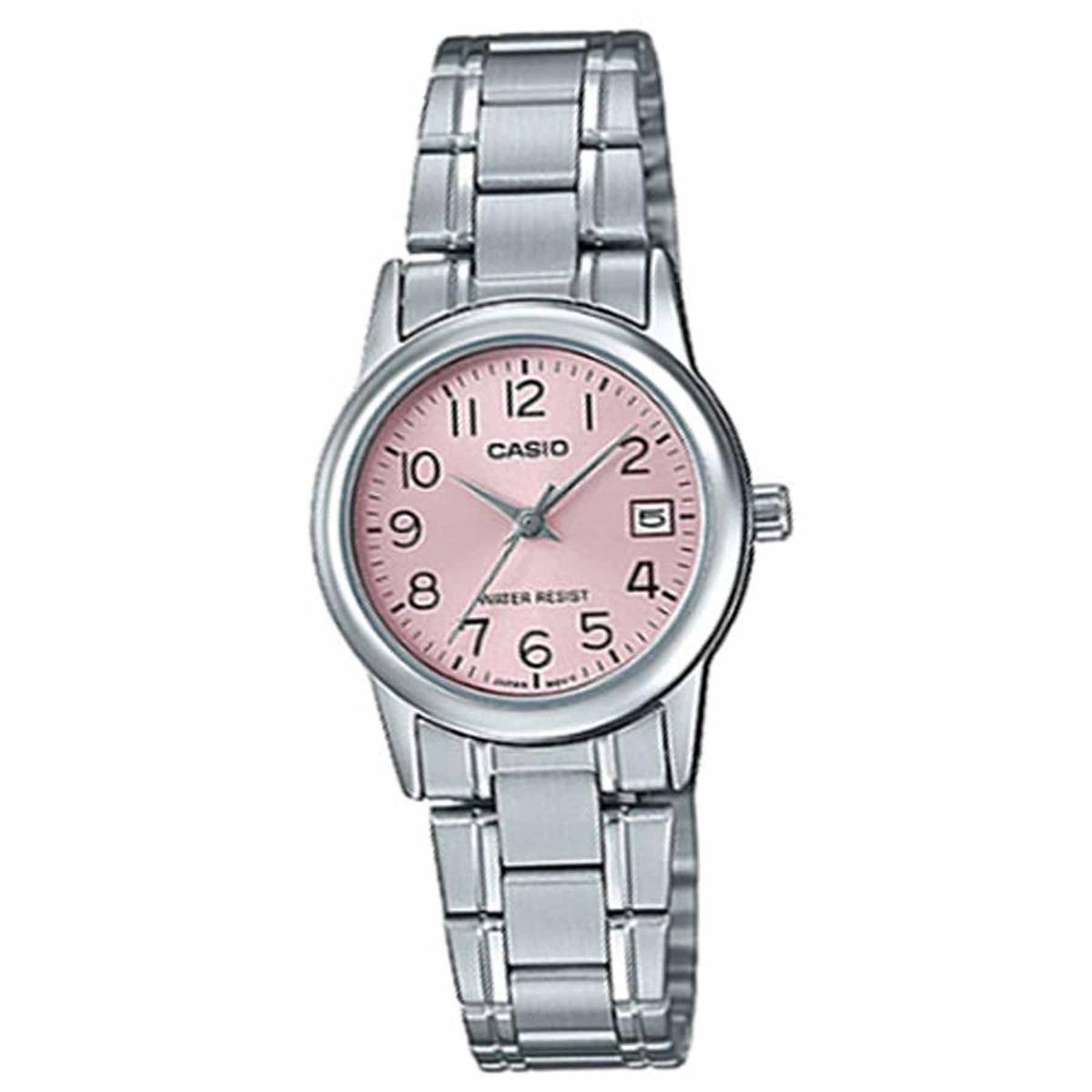 0786e084b86 Relógio Casio Collection Analógico Feminino Ltp-v002d-4budf - R  129 ...