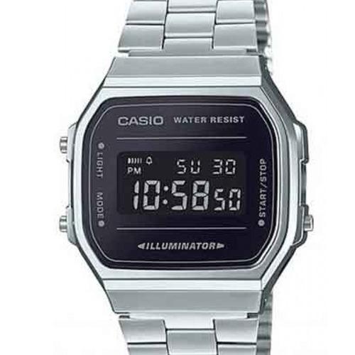 relógio casio feminino a168wem-1df vintage c/ garantia e nf