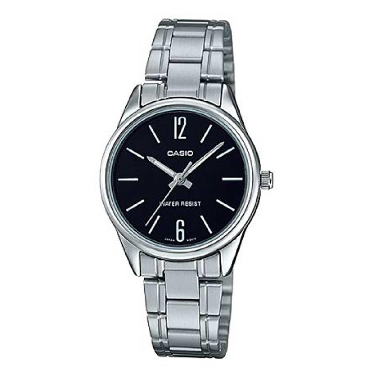374df002915 Relógio Casio Feminino Analógico Aço Inox Ltp-v005d-1budf - R  179 ...