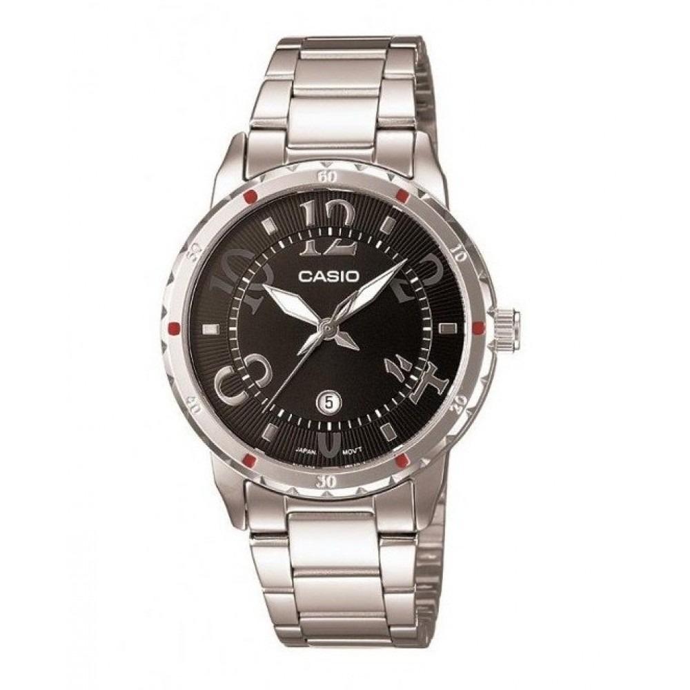3cf4d932e5a Relógio Casio Feminino Analogico Com Data - Ltp-1311d-1a - R  129