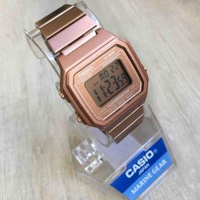 de528657a5eb Relogio Casio Retro Vintage Rose Original - Relógios no Mercado ...