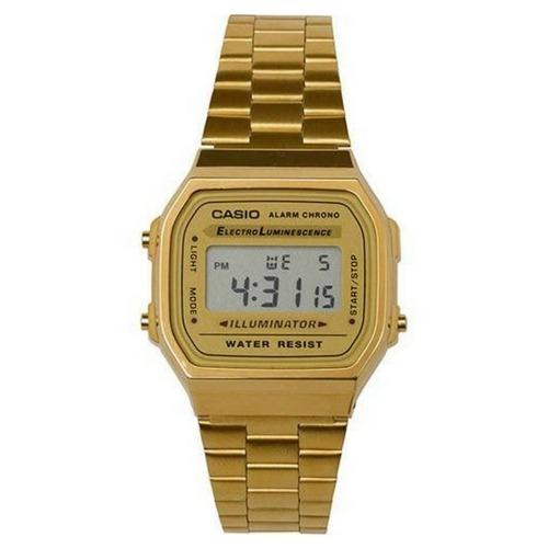 828838ea313 Relógio Casio Feminino E Masculino Dourado E Prata Promoçao - R  100 ...