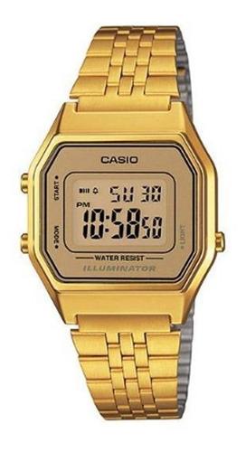 relógio casio feminino la680 diversas cores retro vintage
