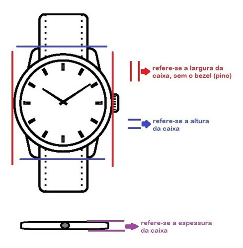 relógio casio feminino ltp-v005d-4budf - lançamento - nf