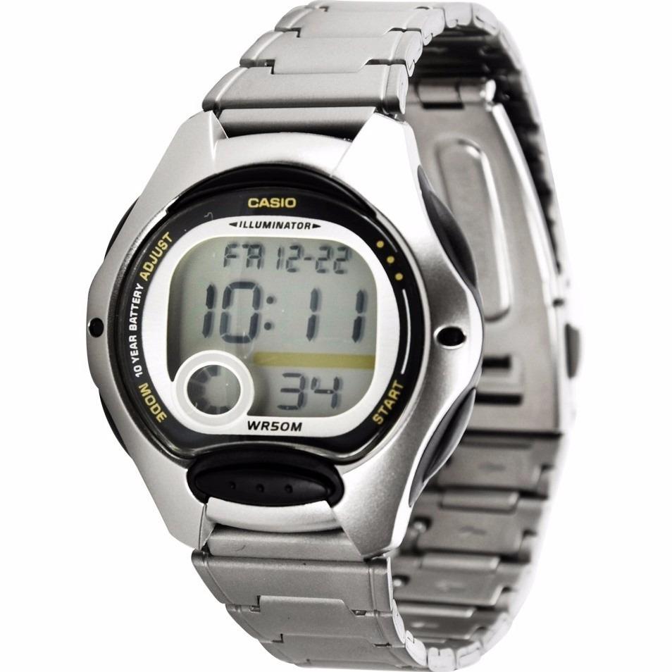 0b2d3111bd4 Relógio Casio Feminino Lw-200 D Cronômetro Alarme 50 M Preto - R  189