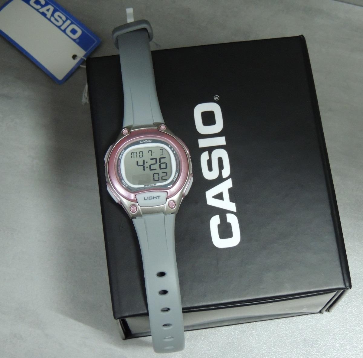3c8bb55b000 relógio casio feminino lw-203-8avdf lançamento ( nf). Carregando zoom.