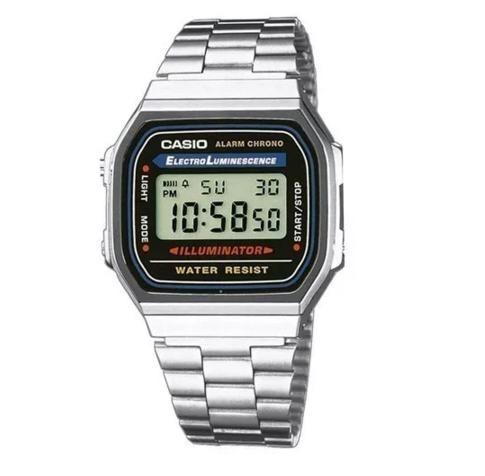 64bd00d2986 Relógio Casio Feminino Retro Vintage Alarm Luz Frete Gratis - R  74 ...