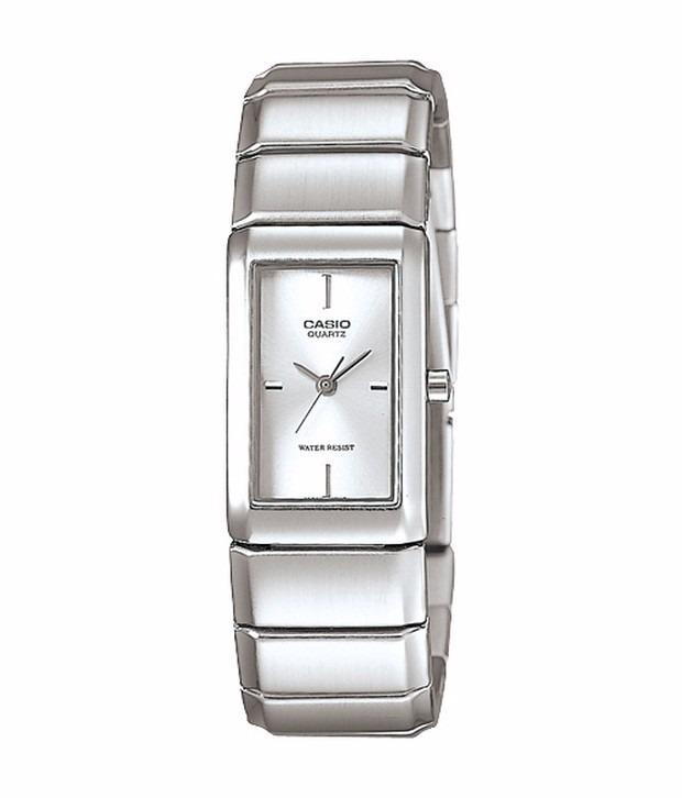 b43a4e89156 Relógio Casio Feminino Social Quadrado Ltp-2037a-7cdf - R  169