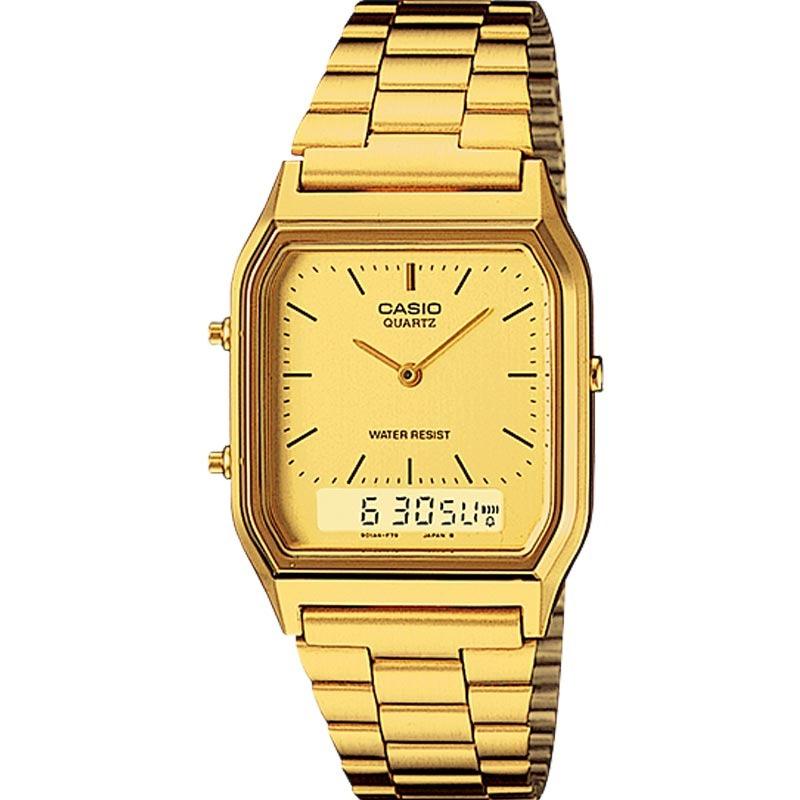 cf3a0efee Relógio Casio Feminino Vintage Aq-230ga-9dmq - R  399