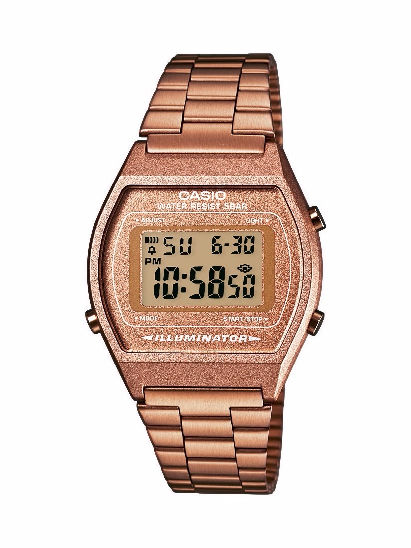 a26f16fc749 relógio casio feminino vintage b640wc 5adf rose digital. Carregando zoom.