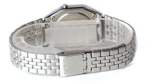 relógio casio feminino vintage digital la680wa-1bdf
