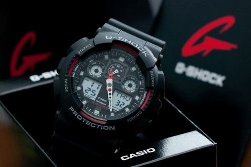 c6e218a3a8a Relógio Casio G-shock 110 Preto Original Pronta Entrega - R  564