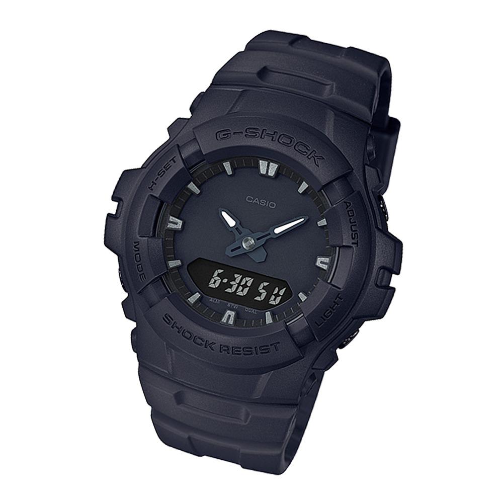ebfca58dbf0 Relógio Casio G-shock Anadigi- G-100bb-1adr - R  649