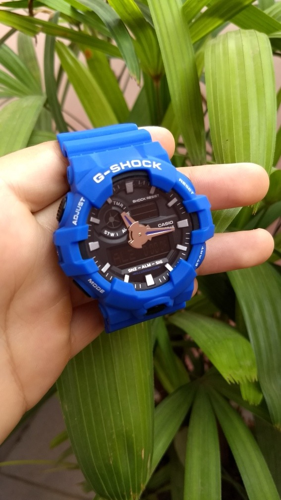 2aad7738d0f Relógio Casio G-shock - Aprova D água (azul) - R  89