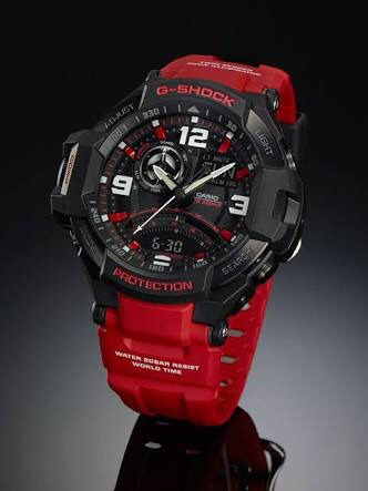 relógio casio g-shock aviation gravity master ga1000-4b