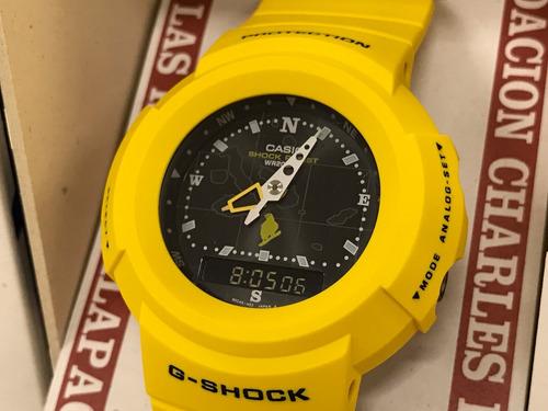 relógio casio g-shock aw-500 ilhas galápagos ed. limit. raro