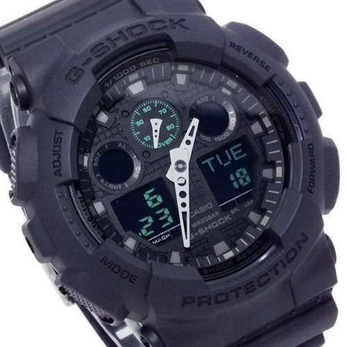 0f19c6b1cc9 Relógio Casio G-shock Black Military Ga100mb-1a Original Eua - R  579