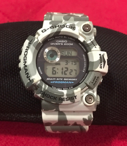 relógio casio g- shock brazilan frogman raro d v c 100 %