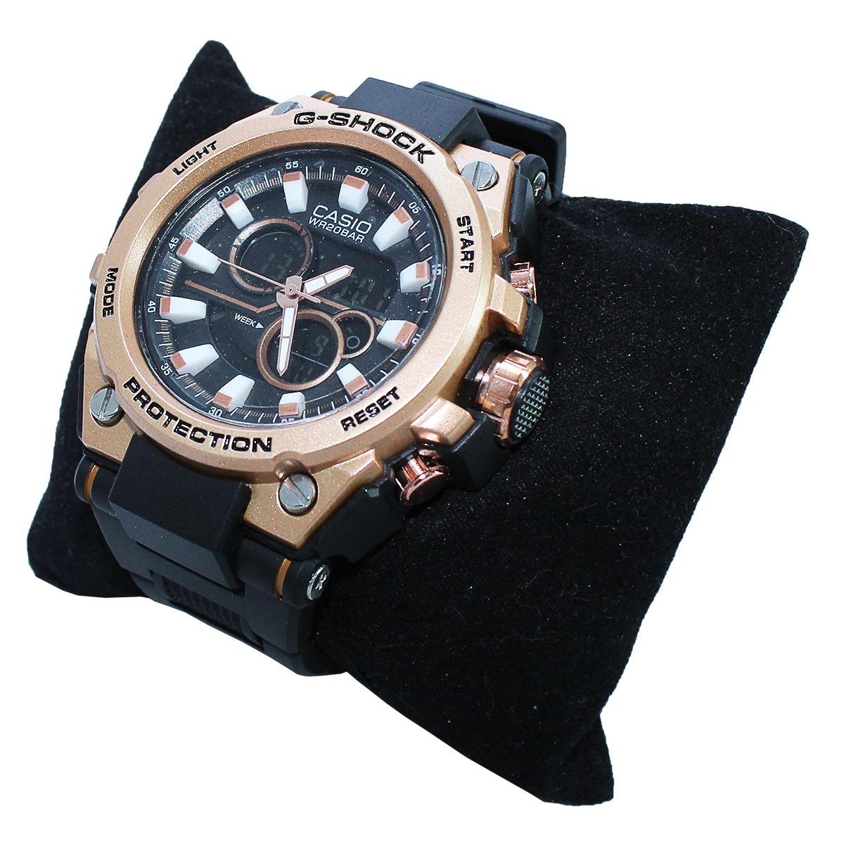 5e236369fb2 relógio casio g shock bronze digital analógico lançamento. Carregando zoom.