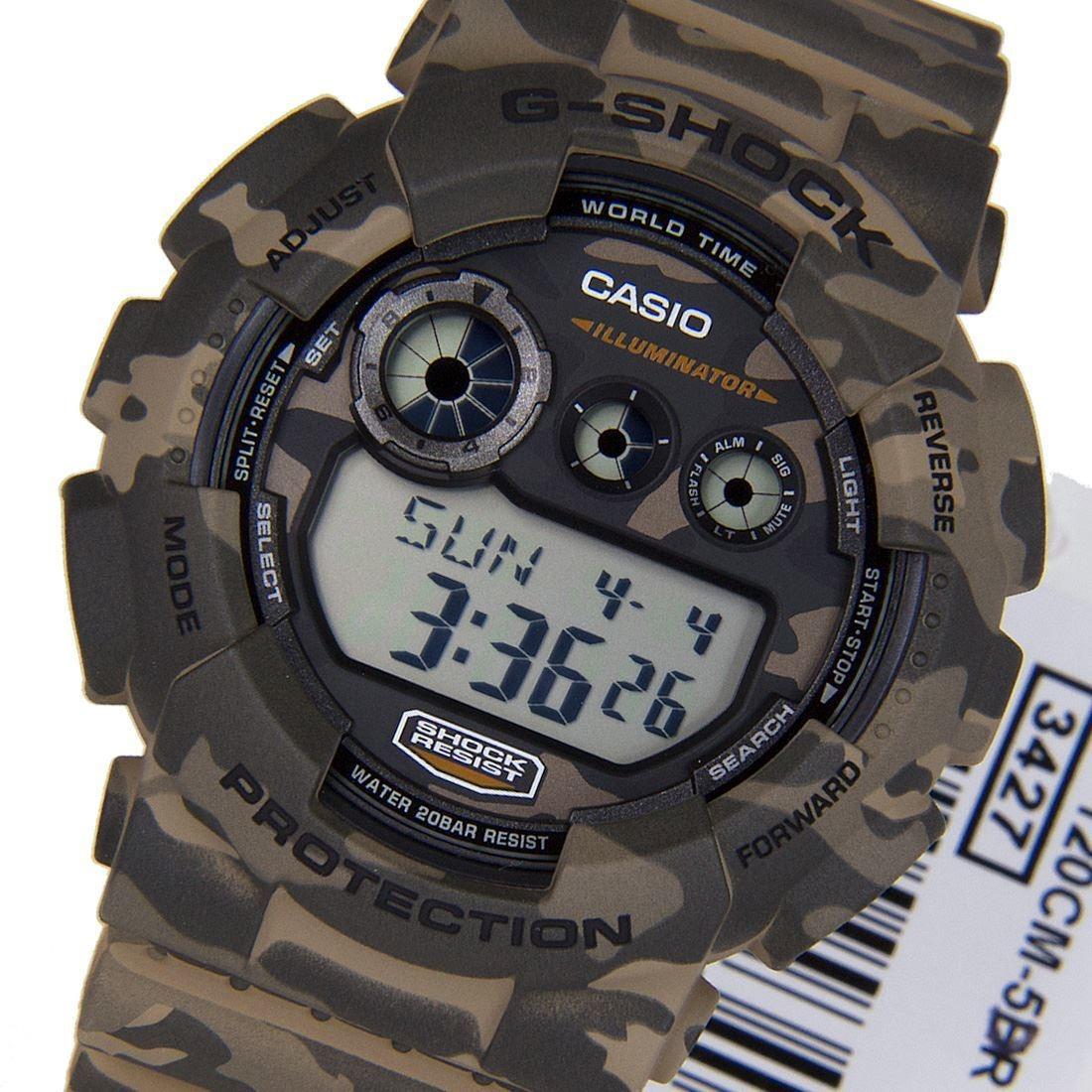 3610ff4d6b3 relógio casio g-shock camuflado gd-120cm-5dr original digita. Carregando  zoom.