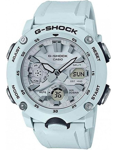 relogio casio g-shock carbon core guard ga-2000s-7adr + nfe