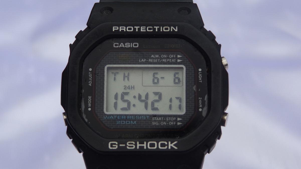 97571aa65c3 relógio casio g-shock d w 5000 raríssimo relogiodovovo. Carregando zoom.