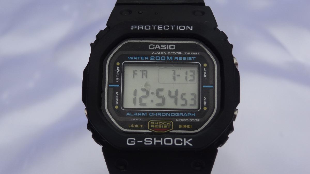 330eab277af relógio casio g-shock d w 5800 único no m l relogiodovovo. Carregando zoom.