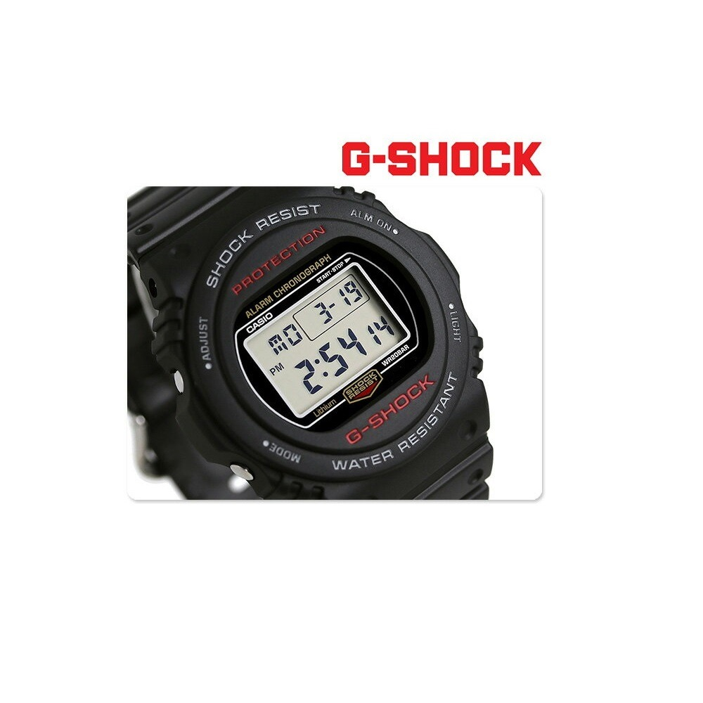 53740d6f240 Relógio Casio G-shock Digital Dw-5750e-1dr - R  479