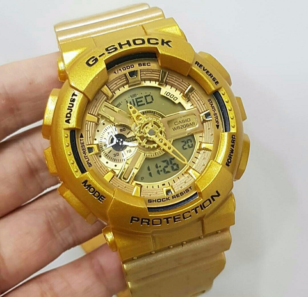 aaf12aa91ed relógio casio g-shock dourado. Carregando zoom.