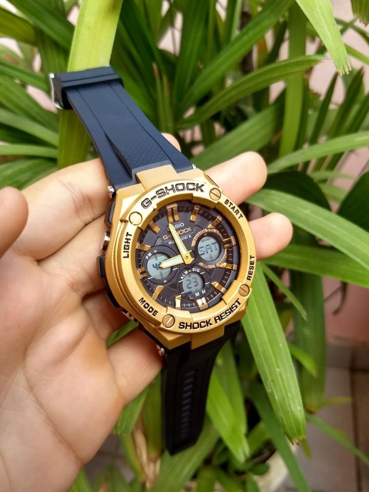 d0f5a1d84ff relógio casio g shock - dourado ( aprova d água ). Carregando zoom.