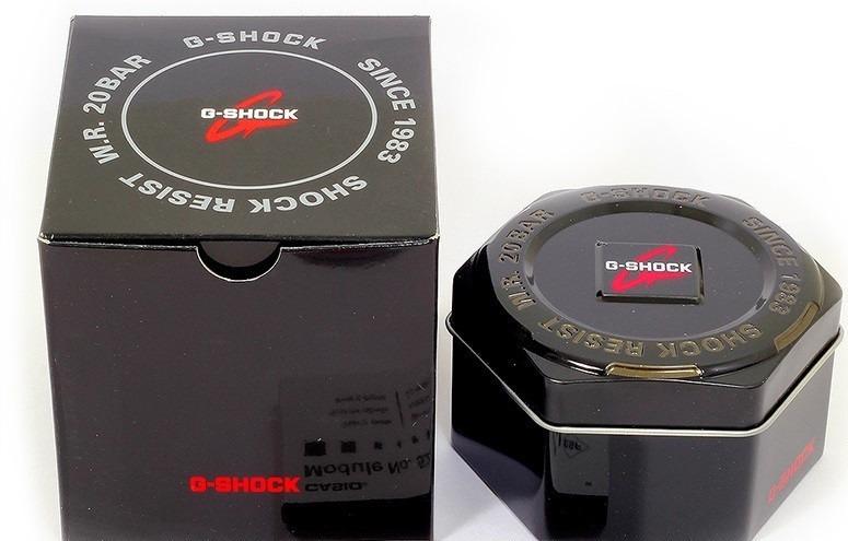7e4611e5fc9 Relógio Casio G-shock Dourado Ga110gd 9a - R  550