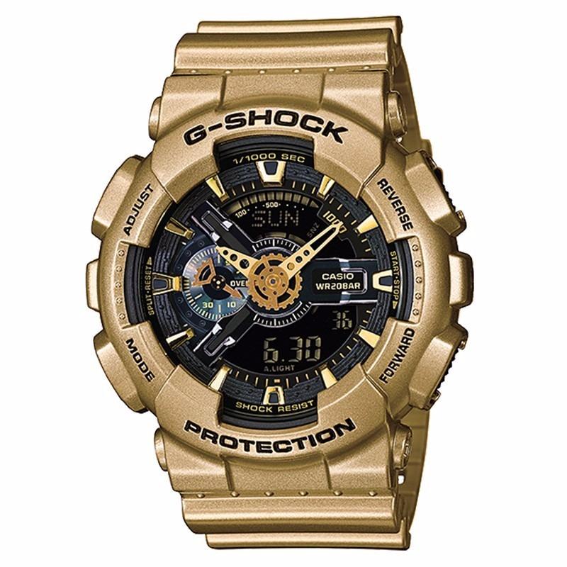 577e0ef2ff9 relogio casio g-shock dourado ga110gd-9a garantia de 01 ano. Carregando  zoom.