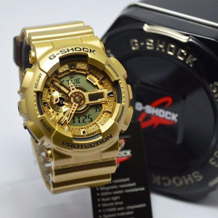 30f7a1ac047 Relogio Casio G-shock Dourado Ga110gd-9a Garantia De 01 Ano - R  679 ...